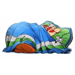 Cojín de colección SD Toys Astérix, Obélix durmiendo con Ideafix (70cm)