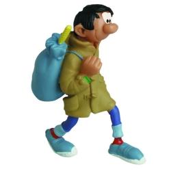 Collectible figurine Plastoy Gaston Lagaffe Duffle-Coat 62109 (2020)