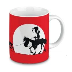 Tasse mug Könitz en porcelaine Lucky Luke (I'm a poor lonesome cowboy)
