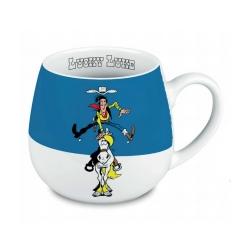 Tasse mug Könitz en porcelaine Lucky Luke (Jolly Jumper)