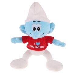 Peluche doudou Puppy Los Pitufos:  I Love the Smurfs 20cm (755342)