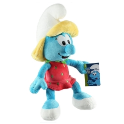 Soft Cuddly Toy Puppy The Smurfs: Smurfette with strawberry dress 30cm (755695)