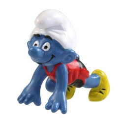 The Smurfs Schleich® Figure - The Sprinter Smurf (20441)