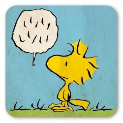 Posavaso Logoshirt® Woodstock 10x10cm