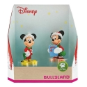 Collectible figurines Bully® Disney - Mickey and Minnie Mouse Christmas (15074)