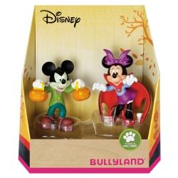 Figuritas de colección Bully® Disney - Mickey y Minnie Mouse Navidad (15074)