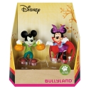 Collectible figurines Bully® Disney - Mickey and Minnie Mouse Halloween (15082)
