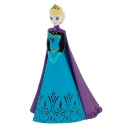 Collectible figurine Bully® Disney Frozen, Elsa with her cape (12966)