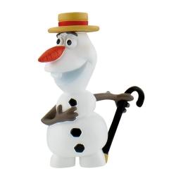 Figurita de colección Bully® Disney Frozen, Olaf con sombrero (12969)