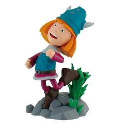 Figurita de colección Bully® Vickie el vikingo, Wickie saltando (43162)