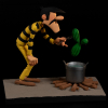 Figurine de collection Fariboles Lucky Luke, Averell Dalton (2021)