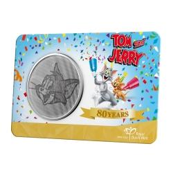 Medalla de colección Warner Bros, Tom y Jerry 80 años (2020)