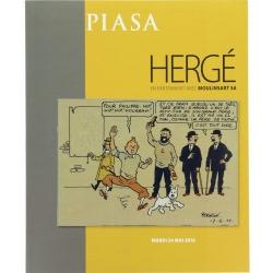 Auction sales catalogue Piasa Hergé in Paris Tintin (2016)
