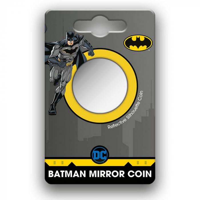 Médaille miroir de collection Warner DC Comics Batman 80 ans (2021)