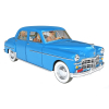 Collectible car Tintin, The Sbrod Coronet Nº45 1/24 (2021)