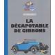 Voiture de collection Tintin, la décapotable de Gibbons Nº46 1/24 (2021)