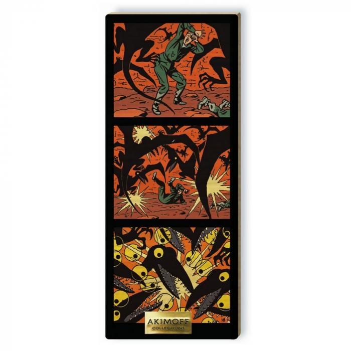 Tableau de collection Akimoff Blake et Mortimer, Les Ptérodactyles (2021)