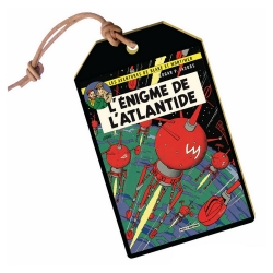 Luggage Tag Akimoff Blake and Mortimer (Atlantis Mystery)