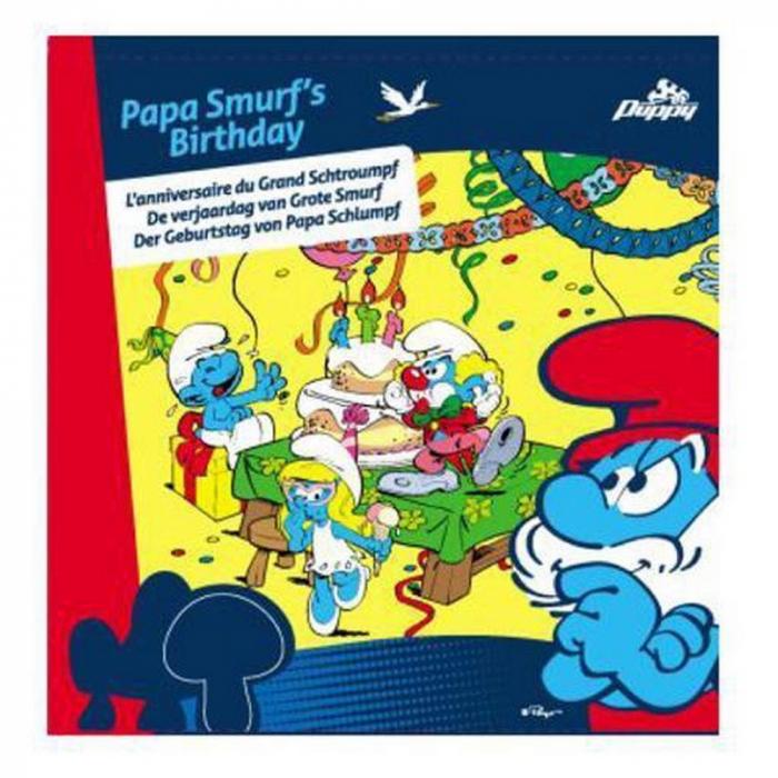 Jeu de plateau Puppy les Schtroumpfs l'anniversaire du Grand Schtroumpf (755216)