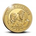 Pièce commémorative 25 € Belgique Blake et Mortimer 75 ans Or 999/1000 (2021)