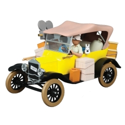 Voiture de collection Tintin, la Ford T de Tintin au Congo 1/12 (2021)