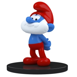 Collectible figurine Puppy The Smurfs, Papa Smurf 11cm (2021)