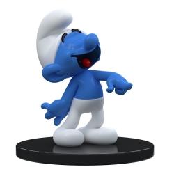 Figura de colección Puppy Blue Resin Los Pitufos, Pitufo Bromista 11cm (2021)