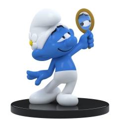 Figura de colección Puppy Blue Resin Los Pitufos, Pitufo coqueto 11cm (2021)
