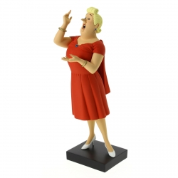 Collectible figurine Moulinsart Fariboles Tintin, Bianca Castafiore 44019 (2016)