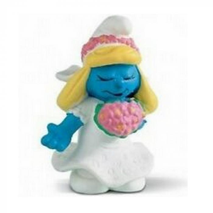 The Smurfs Schleich® figurine, Smurfette Bride (20412)