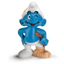 The Smurfs Schleich® figurine, Smurf with Crutch (20709)