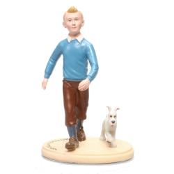 Figura de colección en resina Paramount Tintín y Milú (2011)