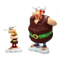Figurines de collection Plastoy Astérix et Obélix chez les Vikings (2006)