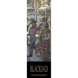 Marque-page en papier Blacksad, City Talk (50x170mm)