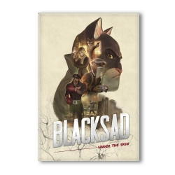 Imán decorativo Blacksad, Under the Skin (55x79mm)