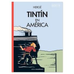 Album The Adventures of Tintin T3 - Tintín en América color version ES (2020)