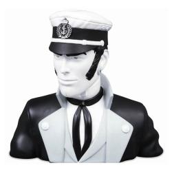 Buste en résine Corto Maltese Moulinsart en noir et blanc 22cm - 46967100 (2021)