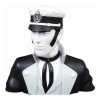 Buste de collection Moulinsart Corto Maltese Noir et Blanc 23cm (2021)