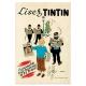 "Figurine Pixi Moulinsart Tintin and the Street Lamp ""Lisez Tintin"" 46300 (2016)"