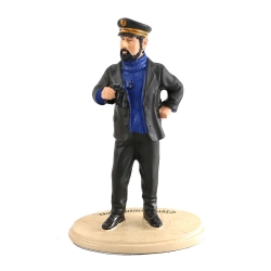 Figurine de collection en résine Paramount Tintin et Milou (2011)