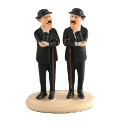 Collectible resin figurine Paramount Tintin, Thomson and Thompson (2011)
