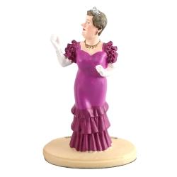 Collectible resin figurine Paramount Tintin, Bianca Castafiore (2011)