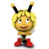 Schleich® figurine Maya the Bee, Maya with Christmas boots (27008)