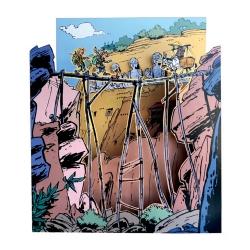 Diorama de colección Toubédé Editions Spirou: El Prisionero de Buda (2021)