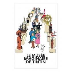 Poster Affiche Moulinsart Le Musée imaginaire de Tintin 23004 (40x60cm)