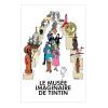 Póster Cartel Moulinsart Le Musée imaginaire de Tintín 230041 (50x70cm)