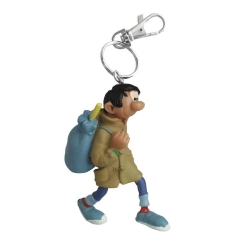 Porte-clés figurine Plastoy Gaston Lagaffe avec son manteau 62149 (2021)