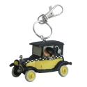 Keychain figure Plastoy Gaston Lagaffe in his car 62145 (2021)