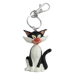 Llavero figura de Plastoy Tomás el Gafe, el gato 62143 (2021)