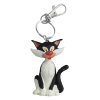Keychain figure Plastoy Gaston Lagaffe, his cat 62143 (2021)